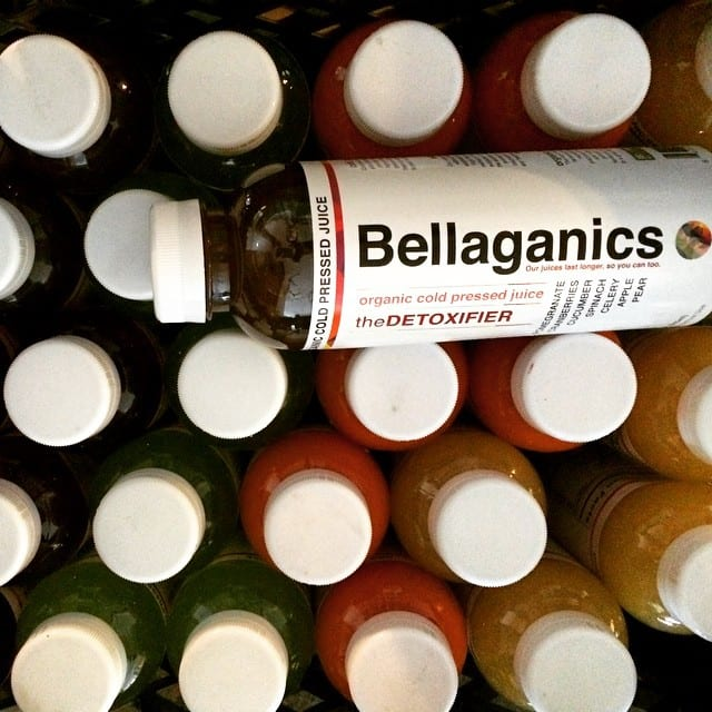 Bellaganics Cold Pressed Juice (8oz)
