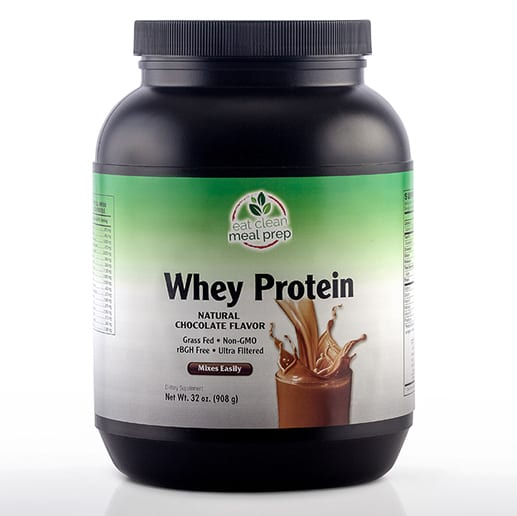 Whey Protein Chocolate Supplement