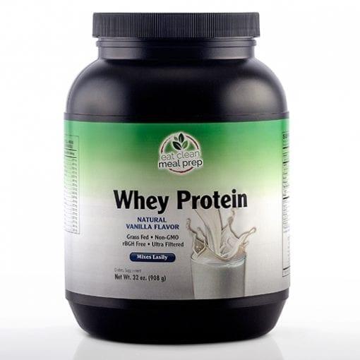 Whey Protein Vanilla Supplement