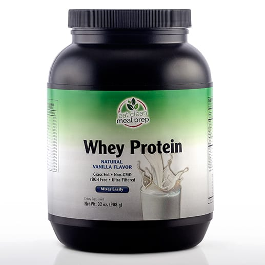 Whey Protein Vanilla Supplement