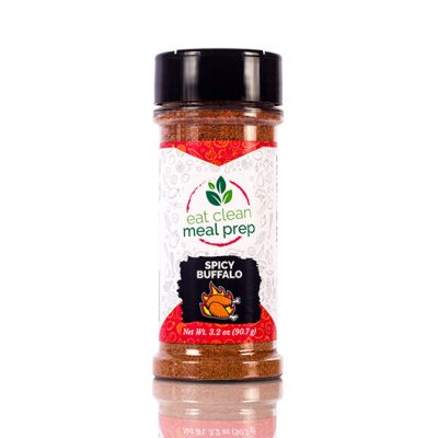 Spicy Buffalo Seasoning from Eat Clean Meal Prep