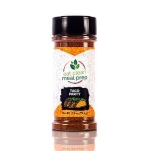 Taco Party Seasoning from Eat Clean Meal Prep