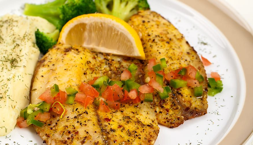 Easy, Healthy Garlic & Herb Tilapia Recipe